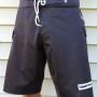 black board shorts-all purpose, 4-way stretch board shorts