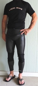 2mm smooth skin wetsuit pants